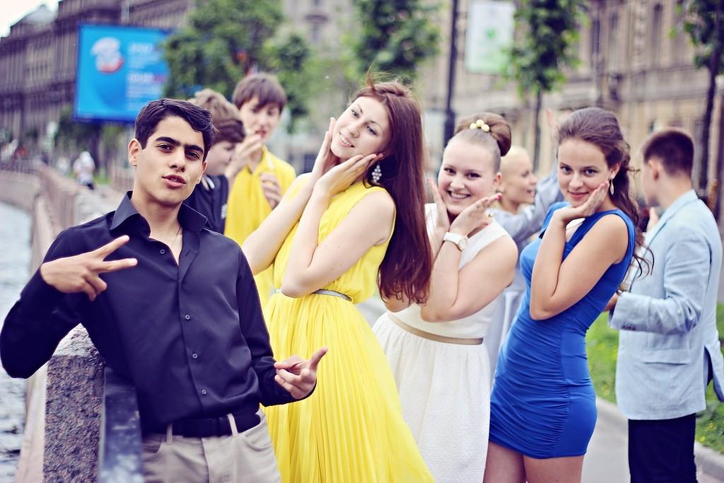 фото выпускной школа