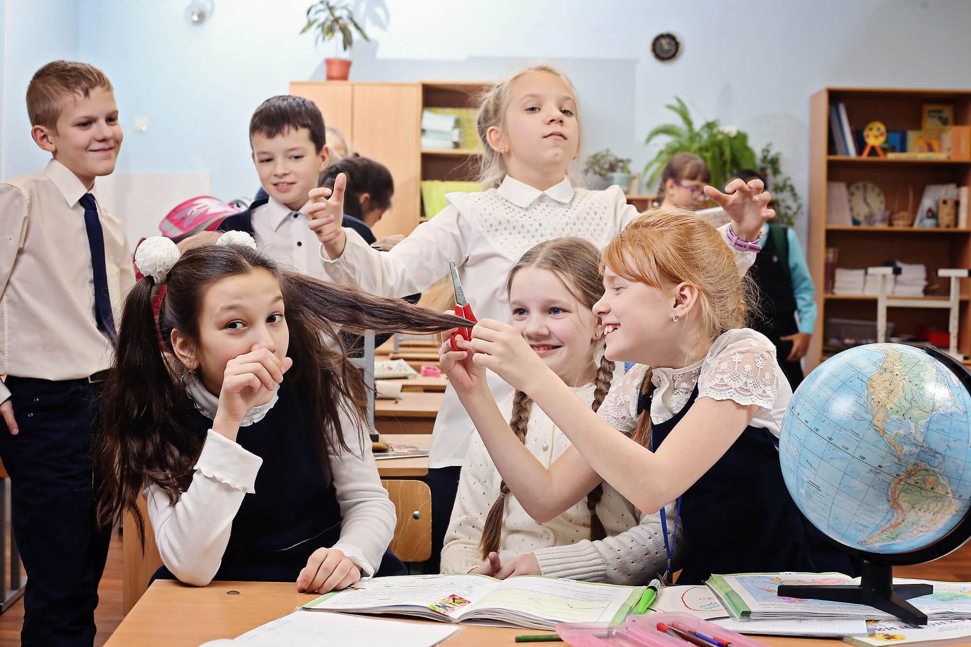 Групповая фотосъемка в 4 классе