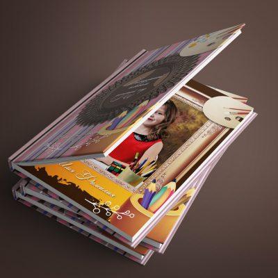Выпускной альбом для детского сада город мастеров
