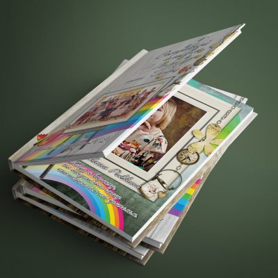 Выпускной альбом для детского сада Радуга дуга